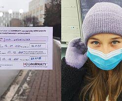 Córka Pawła Królikowskiego zaszczepiła się przeciwko COVID-19 (FOTO)