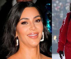 Kim Kardashian podbija Nowy Jork w SKÓRZANYM WORKU na głowie! Zainspirowała się Kanye Westem? (FOTO)