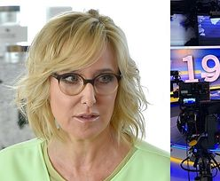 """TVN po raz pierwszy w historii nie wyemitował """"Faktów"""". Agata Młynarska: """"Cisza o 19:00 jest BARDZO WYMOWNA"""""""
