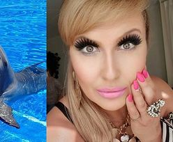 """Nieświadoma Katarzyna Skrzynecka chwali się bliskim spotkaniem z delfinami. Oburzeni fani: """"BARBARZYŃSTWO! One UMIERAJĄ"""" (FOTO)"""