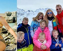 """Izabella Łukomska-Pyżalska chwali się figurą w kostiumie kąpielowym i zapewnia: """"Wrócić do formy po ciąży to świetne osiągnięcie!"""" (FOTO)"""