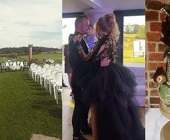 Dawid Narożny wziął ślub! Panna młoda wystąpiła w CZARNEJ SUKNI (ZDJĘCIA)