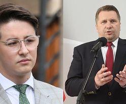 """Przemysław Czarnek wezwał na rozmowę młodego aktywistę krytykującego politykę ministra: """"SZCZUJNIA na indywidualizm i różnorodność"""""""