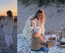 Kasia Tusk relacjonuje piknik na plaży i podsyca plotki o DRUGIEJ CIĄŻY (ZDJĘCIA)