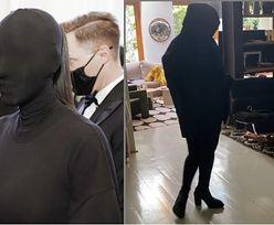 """Katarzyna Nosowska idzie do sklepu wystrojona w mroczny kostium a la Kim Kardashian: """"TYLKO SIATKI WEŹ"""" (FOTO)"""