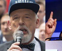 """Odrealniony Janusz Korwin-Mikke częstuje wyborców kolejnymi """"złotymi myślami"""": """"Mężczyźni torują drogę do zmian, a kobiety PODĄŻAJĄ ZA NIMI"""""""