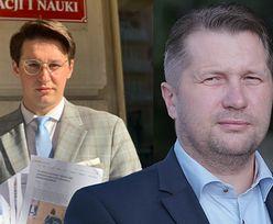 """Jakub Lewandowski relacjonuje spotkanie z ministrem Czarnkiem. """"Spóźnił się 20 minut. Cały czas mi przerywał"""""""