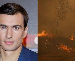Jarosław Bieniuk poruszony pożarami w Turcji. Spędził tam z Anną Przybylską szczęśliwe lata