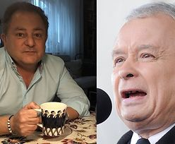 """Zawadiacki Robert Makłowicz pije kawusię w bransoletce z napisem """"J*BAĆ PIS"""" (FOTO)"""