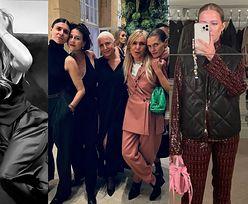 """Celebrytki bawią się na imprezie polskiego """"Vogue'a"""": Anja Rubik, Jessica Mercedes, Anna Lewandowska... (ZDJĘCIA)"""