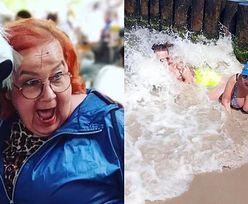 """Iza z """"Gogglebox"""" dodała zdjęcie z synem znad morza. Internauci: """"Trochę ZDROWEGO ROZSĄDKU by się przydało"""" (FOTO)"""
