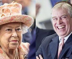 Książę Andrzej randkował z modelką w Pałacu Buckingham. Pozwalał jej siadać na królewskim tronie...