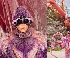Halloween u Kardashianów. Tarantula Kim przebrała wszystkich domowników za PAJĄKI!