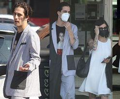 Damiano David z Maneskin z Britney Spears na koszulce randkuje z narzeczoną w kinie (ZDJĘCIA)