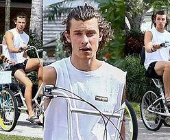 Camila Cabello i Shawn Mendes próbują zażegnać kryzys na beznamiętnej przejażdżce rowerowej (ZDJĘCIA)