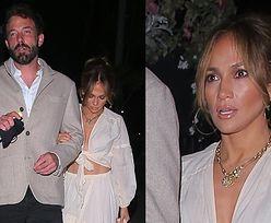 Znudzeni Jennifer Lopez i Ben Affleck opędzają się od paparazzi w drodze na kolację (ZDJĘCIA)