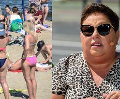 """Dorota Wellman o """"body shamingu"""" na polskich plażach: """"Ta to ma dupsko, ona nie ma cycków. PATRZ, WIELORYB"""""""