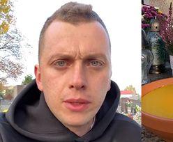 """Dziennikarz TVN odwiedził grób synka. """"Po kilkunastu dniach okazało się, że JEGO SERDUSZKO PRZESTAŁO BIĆ"""""""