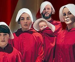 """Małgorzata Rozenek pokazuje halloweenowe kostiumy rodziny z """"Opowieści podręcznej"""": """"Nie dajcie się pognębić"""""""