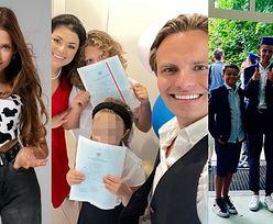 Celebryci chwalą się sukcesami dzieci w ostatnim dniu szkoły (ZDJĘCIA)