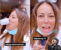 """""""Ekspertka kulinarna"""" Anna Mucha pomstuje na francuską kawę i zapewnia: """"NAWET u hipsterów włoskich nie wypiłam złej kawy"""""""