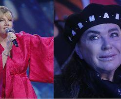 """Opole 2021. Ewa Krawczyk płacze na widowni wzruszona występem Ani Dąbrowskiej w piosence """"Bo jesteś ty"""" (ZDJĘCIA)"""