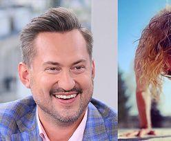 """Marcin Prokop żartuje z żony """"joginki"""": """"Nie ma nóg i składa się głównie z włosów"""""""