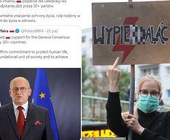 Polska podpisała międzynarodową deklarację PRZECIW ABORCJI. Obok Pakistanu i Ugandy