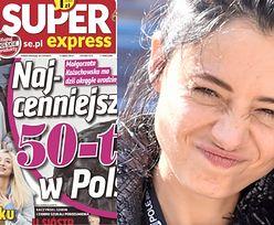 """Adriana Kalska rusza w pościg i ZDERZA SIĘ ZE SŁUPEM na okładce """"Super Expressu"""""""