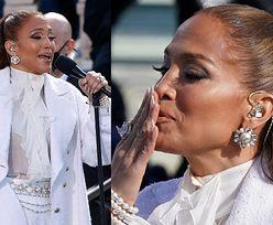 Jennifer Lopez śpiewa na inauguracji Joe Bidena. Zwróciła się do zgromadzonych po hiszpańsku (ZDJĘCIA)