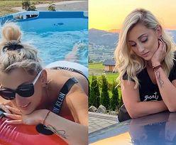 """Kusząca Justyna Żyła pluska się w basenie i zdradza: """"Pachnę rybą"""" (FOTO)"""