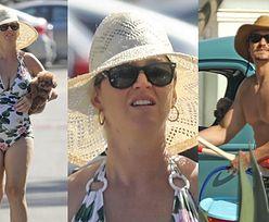 Ciężarna Katy Perry podbija kalifornijską plażę u boku umięśnionego Orlando Blooma (ZDJĘCIA)