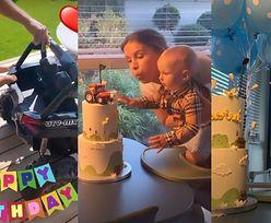 Maffashion i Sebastian Fabijański świętują 1. URODZINY synka: zabawkowy samochód, tort z traktorem... (ZDJĘCIA)