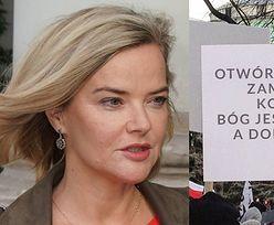 """Monika Zamachowska domaga się otwarcia KNAJP ZAMIAST KOŚCIOŁÓW: """"Co jest, do cholery?"""""""