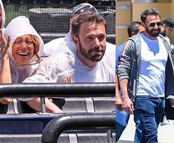 Zakochani Jennifer Lopez i Ben Affleck dokazują w parku rozrywki (ZDJĘCIA)