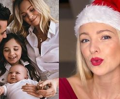 Barbara Kurdej-Szatan pozuje z rodziną i przesyła fanom świąteczne życzenia (FOTO)