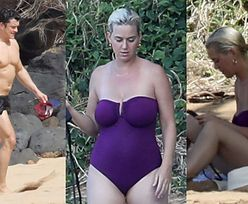 Muskularny Orlando Bloom dogląda Katy Perry na hawajskich wczasach (ZDJĘCIA)