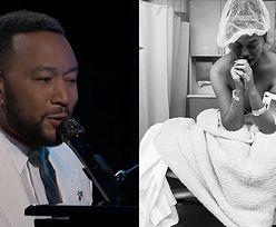 """Billboard Music Awards: John Legend dedykuje piosenkę pogrążonej w żałobie Chrissy Teigen: """"Nie martwię się o nas"""""""