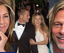 """""""Zaprzyjaźnieni"""" Jennifer Aniston i Brad Pitt wystąpili RAZEM na wideokonferencji (FOTO)"""