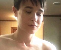 Elliot Page świętuje nadejście weekendu zdjęciem zoperowanej klatki piersiowej (FOTO)