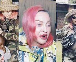 Madonna w ogniu krytyki za PANDEMICZNE TOURNÉE po Afryce! Odwiedziła pięć krajów w trzy tygodnie... (ZDJĘCIA)