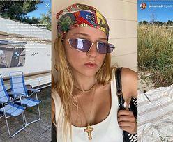 """Wdzięczna Jessica Mercedes docenia skromne wakacje w przyczepie na Helu: """"Odpoczywamy bardziej niż NA BALI CZY W TULUM"""" (FOTO)"""