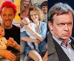 Te gwiazdy zdecydowały się na WIELODZIETNE rodziny! Izabella Łukomska-Pyżalska, Jan Frycz, Michał Wiśniewski (ZDJĘCIA)