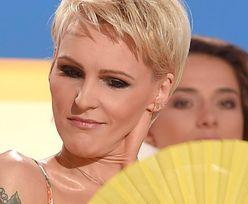 """Fani pod wrażeniem 45-letniej Agnieszki Chylińska w kusej, lateksowej sukience. """"DAWAJ RECEPTĘ NA NOGI!"""" (FOTO)"""