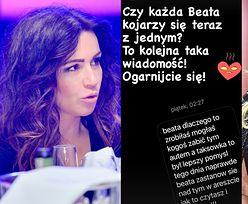 """Beata Tadla żali się, że pomylono ją z... Beatą K.: """"Czy każda Beata kojarzy się teraz z jednym? OGARNIJCIE SIĘ"""""""