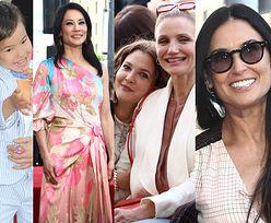 Demi Moore, Cameron Diaz i Drew Barrymore wspierają Lucy Liu na odsłonięciu gwiazdy w Alei Sławy (ZDJĘCIA)
