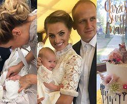 Sabina Jeszka szczegółowo zrelacjonowała chrzciny córki. Anastazja Ella już jest gwiazdą Instagrama...
