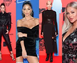"""MTV EMA 2019: Elegancka Dua Lipa, """"odmłodzona"""" Nicole Scherzinger, zjawiskowa Doutzen Kroes i... Ewelona (ZDJĘCIA)"""