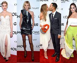 Tłum gwiazd na gali Glamour Women Of The Year Awards: Zmarnowana Rubik, elegancka Heard, dorodna Graham... (ZDJĘCIA)