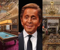 Valentino Garavani sprzedaje luksusową willę w Toskanii za ponad 13 MILIONÓW DOLARÓW! (ZDJĘCIA)